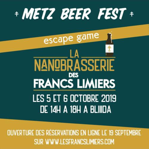 Escape game Metz Beer Fest nanobrasserie