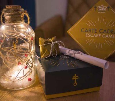 boite cadeau session escape game les francs limiers metz