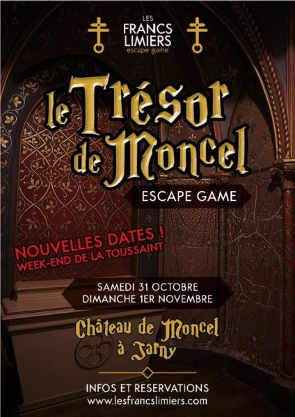 escape game jarny - trésor de moncel