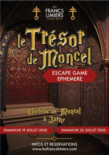 escape game jarny - trésor de moncel